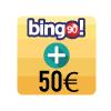 En bingo 90, sumamos 50€ a los bingos de 16ha 18h